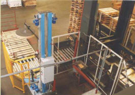 Wrappers equipment for wrapping with stretch film pallets automatic lines Poland